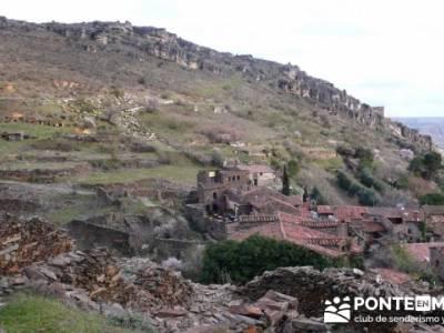 Travesía de senderismo desde El Atazar a Patones - Patones de Arriba; el tiemblo rutas